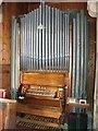 SK6762 : Organ in St Andrew's Church, Eakring by J.Hannan-Briggs