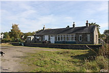 NJ0020 : Nethy Bridge Railway Station (Disused) by Alistair Oram