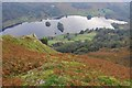 NY3506 : Rydal Water from Nab Scar by Ian Taylor