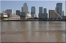 TQ3680 : Canary Wharf by Philip Halling