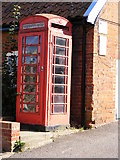 TM2844 : Cliff Road telephone box by Geographer