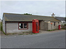 HP6208 : Baltasound: the post office by Chris Downer