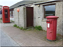 HP6208 : Baltasound: postbox № ZE2 118 by Chris Downer