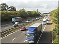 SJ9219 : The M6 - the traffics moving for a change by Row17