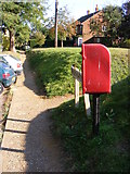 TM2743 : Ipswich Road Postbox by Geographer