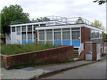 TQ3473 : Dulwich Telephone Exchange by David Hillas