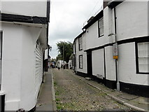 TQ9220 : Rye/East Sussex, Church Square by Helmut Zozmann