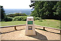 TQ1343 : Donation Cairn, Leith Hill by N Chadwick