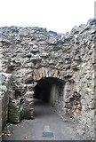 NT9953 : White Tower, Berwick Castle by N Chadwick