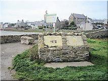 SH3568 : The Old bridge entrance Aberffraw by John Firth
