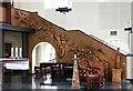 TQ3482 : St Matthew, St Matthew's Row, Bethnal Green - Stairway by John Salmon
