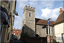 TR1458 : Church of St Peter, Canterbury by N Chadwick
