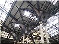 TQ3381 : Victorian Ironwork, Liverpool Street Station by Derek Voller