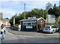 ST8260 : Taxi hut, Station Approach, Bradford-on-Avon by Jaggery