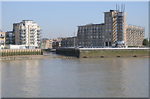 TQ3680 : View across the Thames by Philip Halling