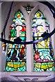TL1135 : Window in Lower Gravenhurst Church by Tiger
