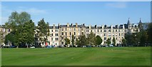 NT2572 : Glengyle Terrace from Bruntsfield Links by kim traynor