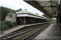 SD9926 : Hebden Bridge Railway Station by David Robinson