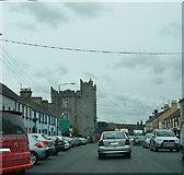 N9690 : St Leger's Castle, Market Street, Ardee by Eric Jones