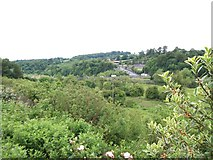 N9673 : View northwards towards Slane Bridge from a lay-by on the N2 by Eric Jones