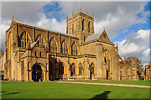 ST6316 : Sherborne Abbey by Mike Searle