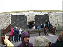 O0072 : Visitors waiting to enter the Newgrange Tomb by Eric Jones