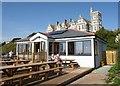 SX3553 : Gook Beach Café, Portwrinkle by Derek Harper