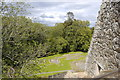 NJ5340 : View from the top of Huntly Castle by Bill Harrison