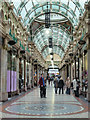 SE3033 : County Arcade, Leeds by Chris Allen