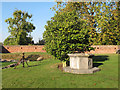 TQ4274 : Eltham Palace, well head by Stephen Craven