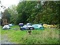 N7170 : Car cemetery by James Allan