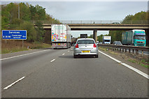 TL4259 : M11 passes under the A1303 by Robin Webster