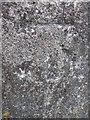 NO2339 : Bench Mark near Markethill by Maigheach-gheal