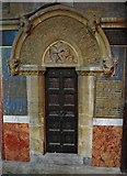 W6671 : St. Fin Barre's Cathedral (interior) - David's Door, Cork by P L Chadwick