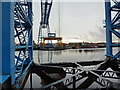 NZ5021 : Middlesbrough Transporter Bridge by Alexander P Kapp