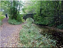 SK3353 : Crich Chase Bridge (no.14) on the Cromford Canal by Graham Hogg