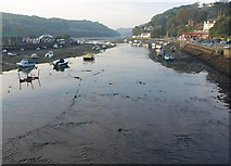 SX2553 : Looe River by Derek Harper