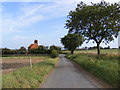 TM2938 : Back Lane, Lower Falkenham by Adrian Cable