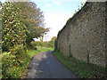 SX8150 : North wall of an enclosure, Lower Cotterbury  by Robin Stott