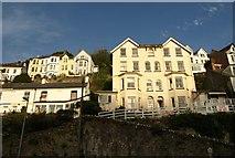 SX2553 : Houses at East Looe by Derek Harper