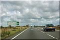 SK9321 : A1 - Honey Pot Lane turning by Robin Webster