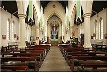 TQ3283 : Holy Trinity, Shepherdess Walk, Hoxton - East end by John Salmon