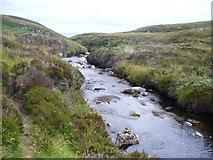 NB5350 : Abhainn na Cloich by Colin Smith