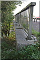 SP5203 : A423 bridge parapet over Weirs Mill Stream by Roger Templeman