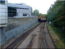TQ1978 : Tracks at Gunnersbury Station by Thomas Nugent