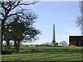 SP1471 : Obelisk, Obelisk Farm, Nuthurst  by Robin Stott