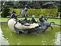 SP8922 : Ascott fountain by Paul Shreeve