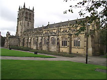 SD8913 : St. Chad's, Rochdale by Philip Platt