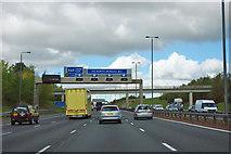 SE4337 : A1(M) - junction 44 in 1/2 mile by Robin Webster