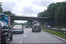 SJ8441 : Hanchurch Lane Bridge, M6 by N Chadwick